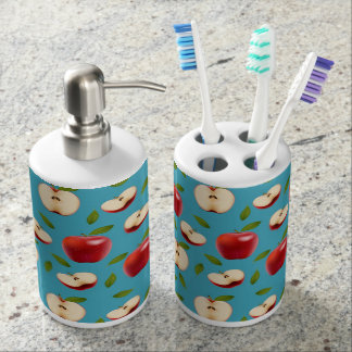 Red Apple Pattern Soap Dispensers