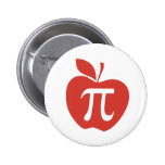 Red Apple Pie Button