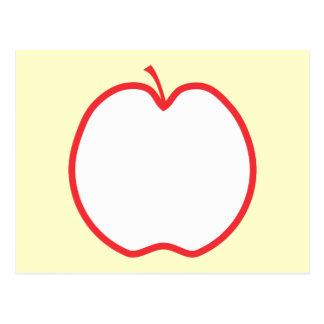 Red Apple. Postcard