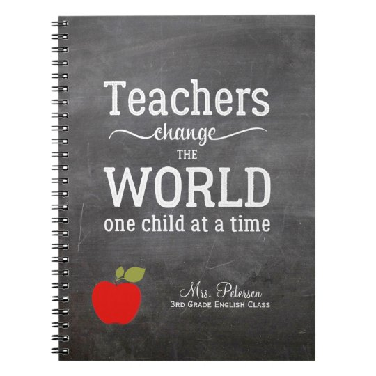 Red apple quote and your text chalkboard teacher