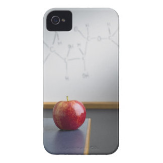 Red apple sitting on teachers desk Case-Mate iPhone 4 case