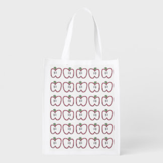 Red Apple Slice Bag