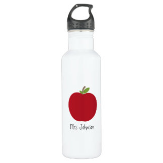 Red Apple Teacher 710 Ml Water Bottle