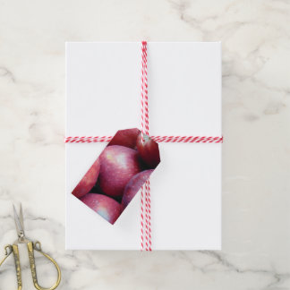 Red Apples 217 Gift Tags