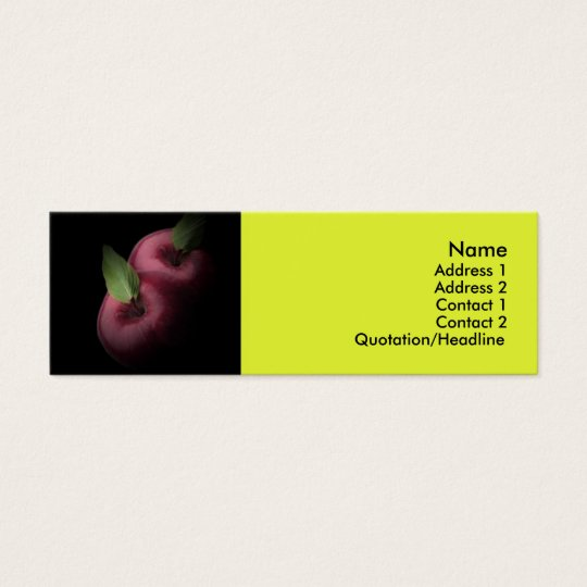 Red Apples Business Card