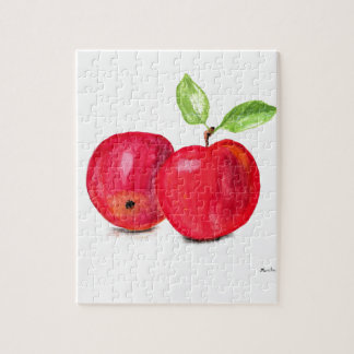 Red apples fruity painting gardener gift jigsaw puzzle