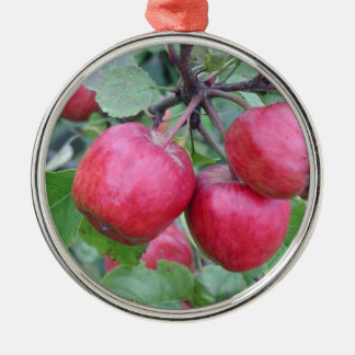 Red Apples in the Tree Christmas Ornament