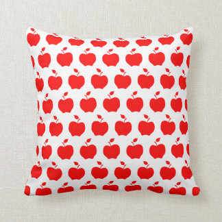 Red Apples Pattern Cushion