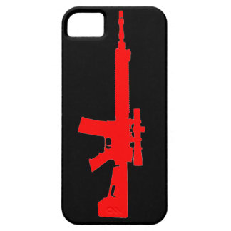 Red AR-15 iPhone 5 Universal Case iPhone 5 Cover