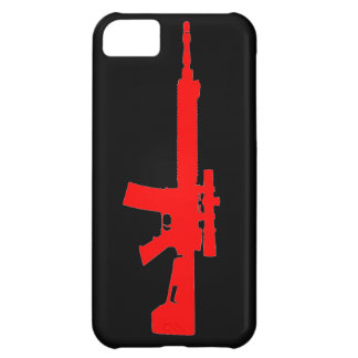 Red AR-15 iPhone 5 Universal Case iPhone 5C Case