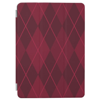 "Red Argyle 9.7"" iPad Pro Cover"