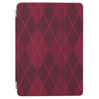 Red Argyle iPad Air Cover