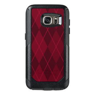 Red Argyle OtterBox Samsung Galaxy S7 Case