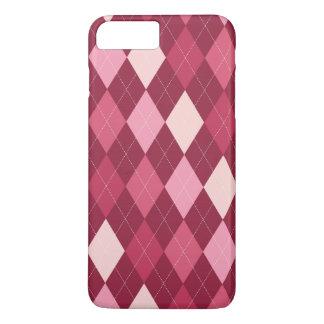 Red argyle pattern iPhone 8 plus/7 plus case
