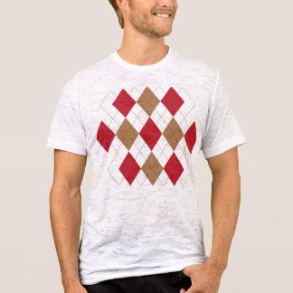 Red Argyle Shirt
