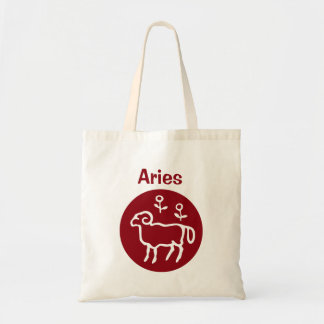Red Aries Zodiac Sign