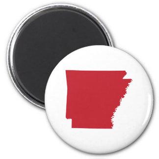 Red Arkansas Magnet