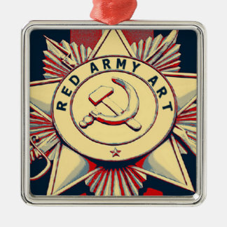 RED ARMY ART ORNAMENTS