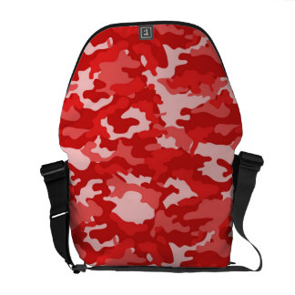 Red Army Military Camo Camouflage Pattern Texture Courier Bags
