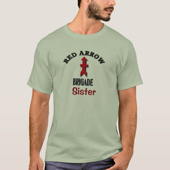 Red Arrow Brigade Personalised Custom T-Shirt
