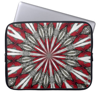 Red Arrow Medallion Laptop Computer Sleeve