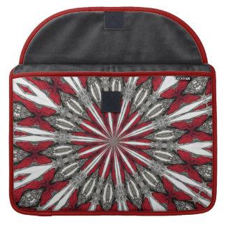 Red Arrow Medallion MacBook Pro Sleeve