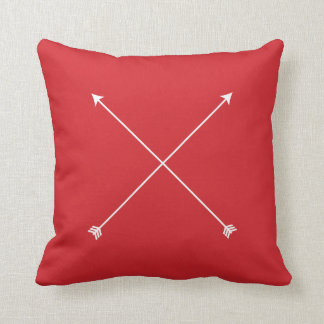 Red Arrow Modern Tribal Minimal Cushion