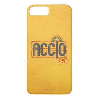 Red Art Deco Accio Spell Graphic iPhone 8 Plus/7 Plus Case