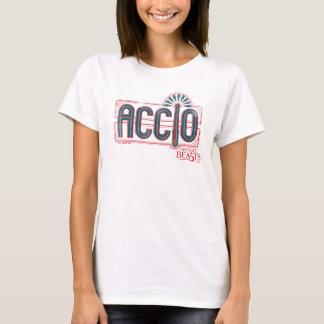 Red Art Deco Accio Spell Graphic T-Shirt
