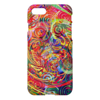 Red Artistic Abstract iPhone 8/7 Case