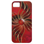 Red As the Flame iPhone 5 Case-Mate