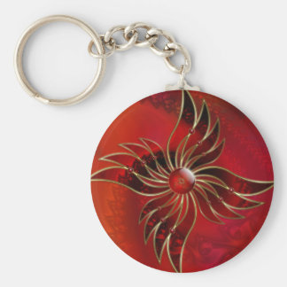 Red As the Flame Keychain