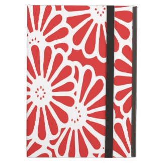 Red Asian Moods Floral iPad Air Case