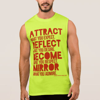 red ATTRACTion Men's Muscle Shirt
