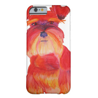 Red Austin Barely There iPhone 6 Case