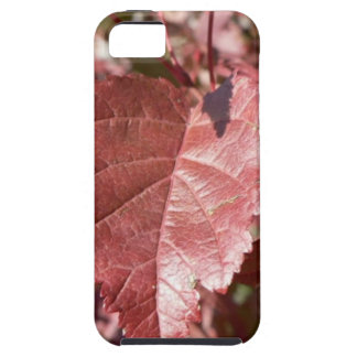 RED AUTUMN LEAVES CASE FOR THE iPhone 5