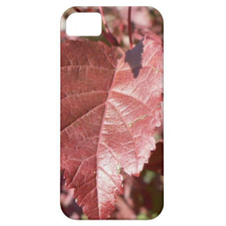 RED AUTUMN LEAVES iPhone 5 CASE