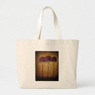 Red Autumn Canvas Bag