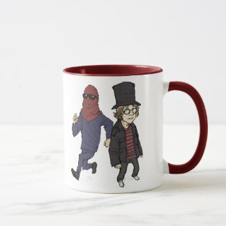 Red Avenger and Red Dawg Mug