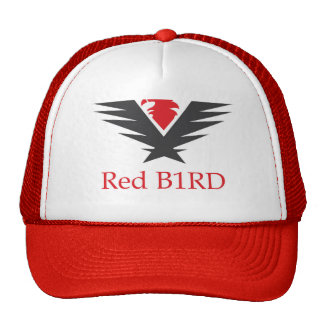 Red B1RD snapback hat