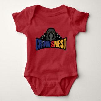Red Baby Bodysuit