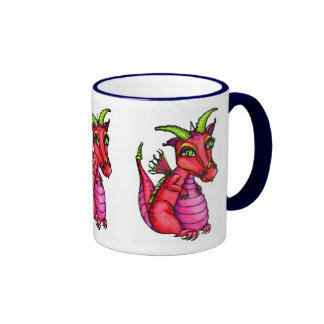 Red Baby Dragon Cute Fantasy Mug