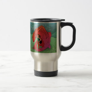Red Baby Dragon Travel Mug