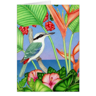 Red-backed Kingfisher Card