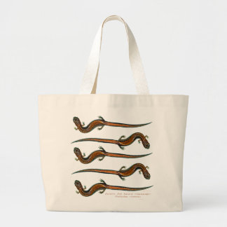 Red Backed Salamanders Jumbo Tote Bag