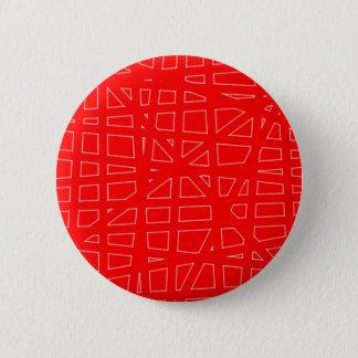 Red Background 6 Cm Round Badge
