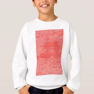 Red background sweatshirt