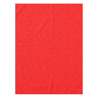 Red Background Tablecloth