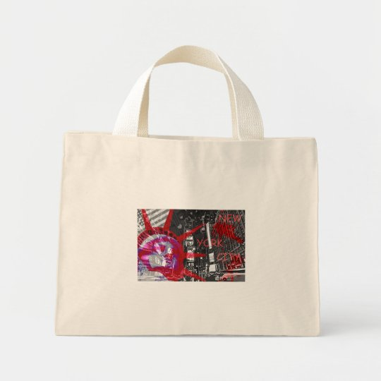 red bag design the USA New York rules freedom