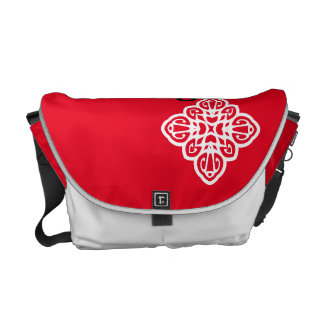 "Red Bag Flower ""Do you trust me ?' Commuter Bags"